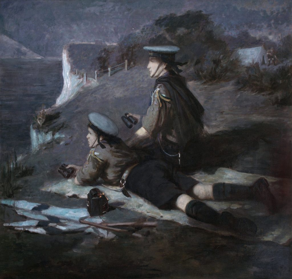 Coastwatching; Coast watching; First World War; Ernest Stafford Carlos; Scouts; Sea Scouts;