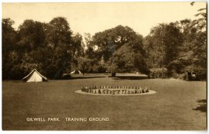 Gilwell Park; Gilwell Oak; Wood badge course; UK Scouts;