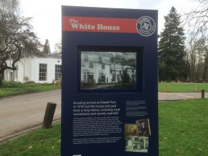Gilwell Park; Heritage Trail; White House; Scouts;