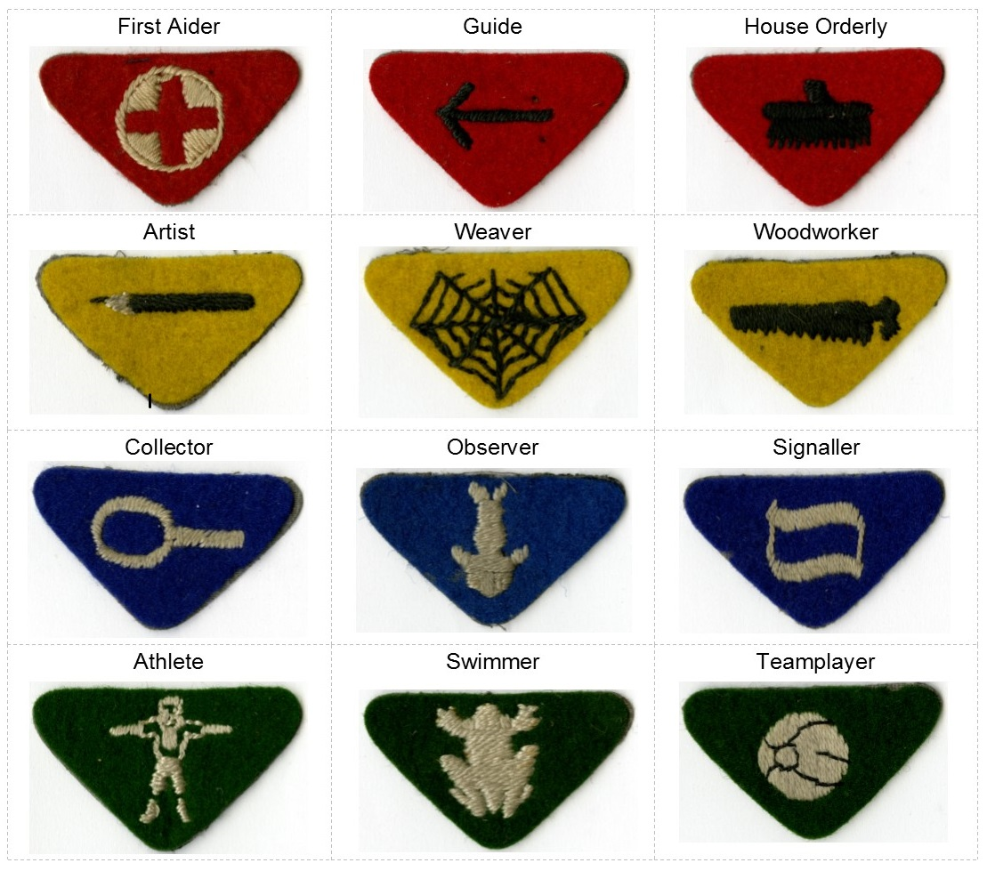 Wolf Cubs; scout; badges; 1916;