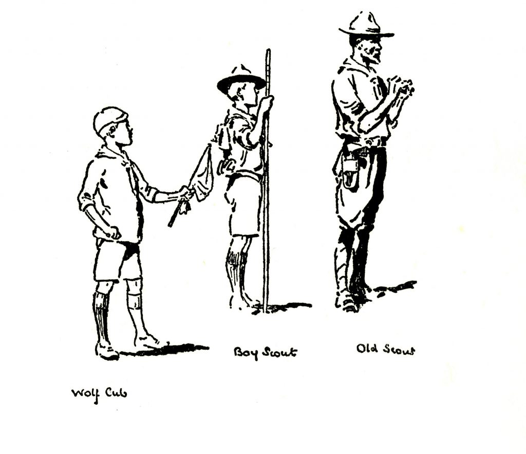 Wolf Cubs Handbook; Robert Baden-Powell; Wolf Cubs; Scouts; Cubs