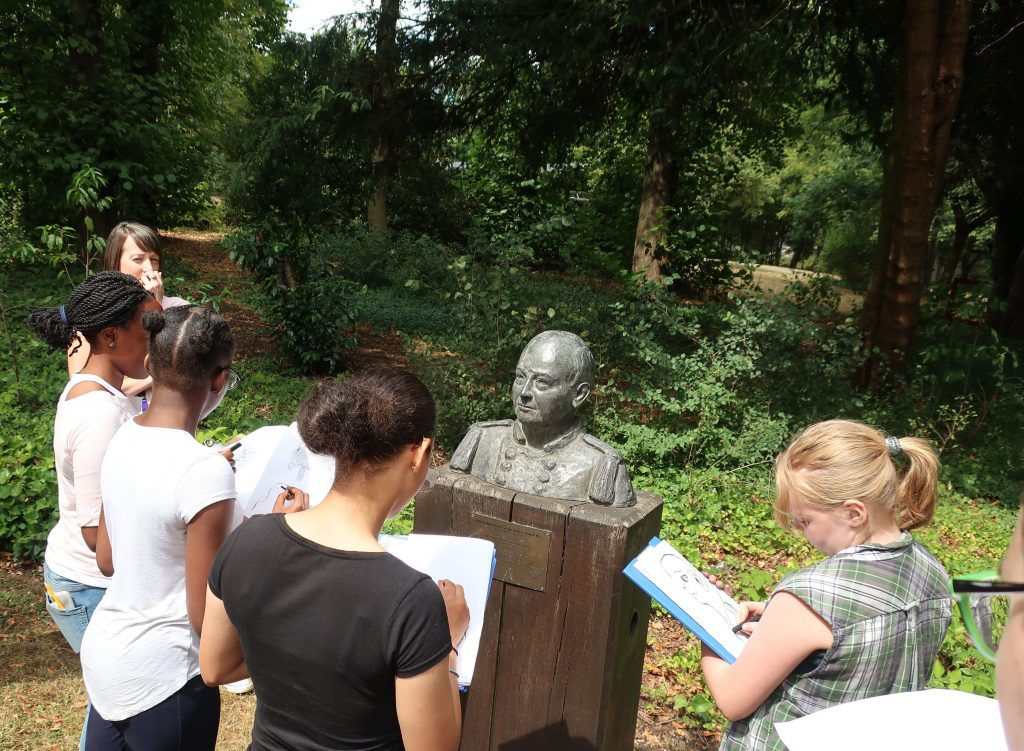 Warrington Baden-Powell; Sculpture; Sea Scouts;