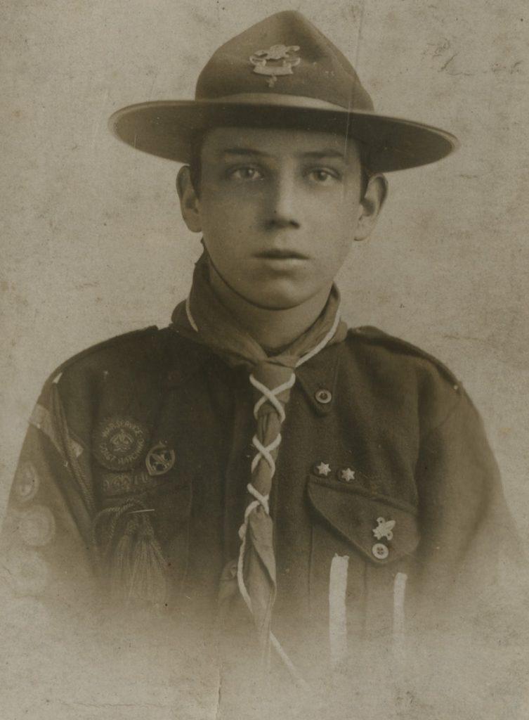 Arthur Shepherd; Cornwell Badge; Whitby Bombing 1914; Scout; Bravery;