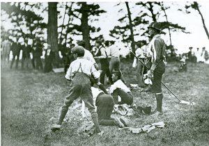 Brownsea Island; 1907; Scouts; Scout camp;