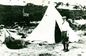 Robert Baden-Powell; Brownsea Island; Scouts; Pilot Camp; Scout Camp; Kudu Horn;