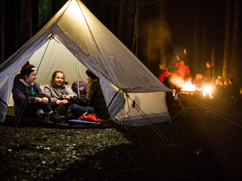 Scouts; tents; camping; Gilwell Park; Scout Adventures;