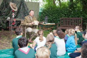 Scouts; Cubs; Beavesr; Remembrance; First World War;