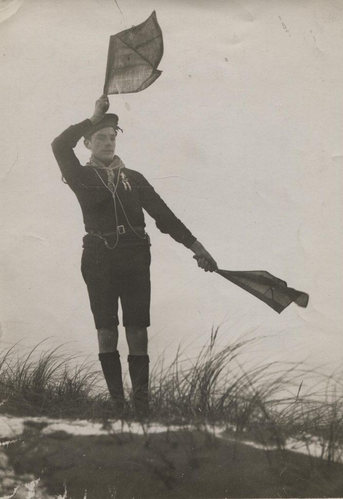 Sea Scout; Scout; Semaphore; First World War; Coastwatching;