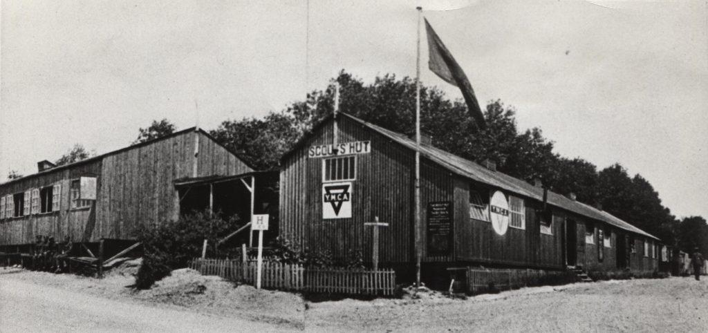 Scout Hut; YMCA; Etaples; Western Front; First World War;