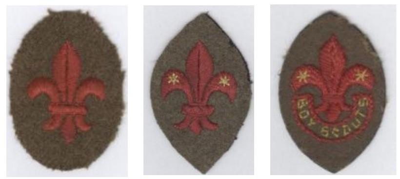 Scout symbol; scout emblem; fleur-de-lys; fleur-de-lis; arrowhead