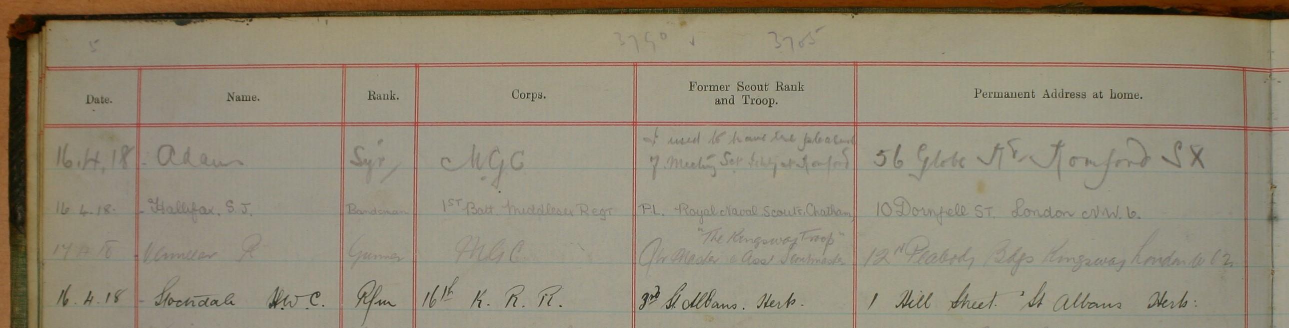 Etaples; Recreation Huts; First World War;