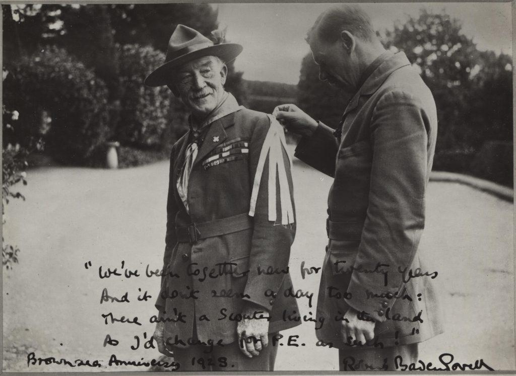 Percy Everett; Robert Baden-Powell;